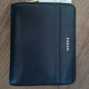 Fossil Evelyn  Leather Wallet